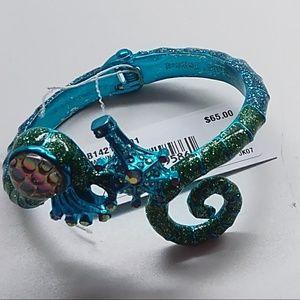 Betsey Johnson New Turquoise Seahorse Bracelet